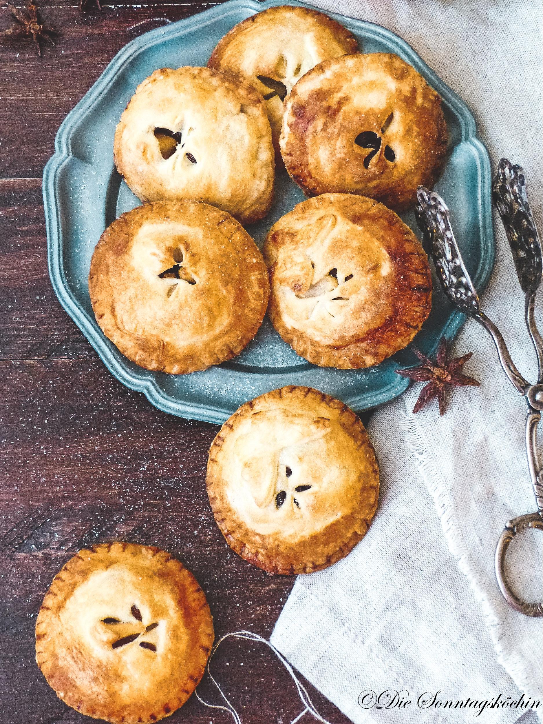 Apfel Rum Pies