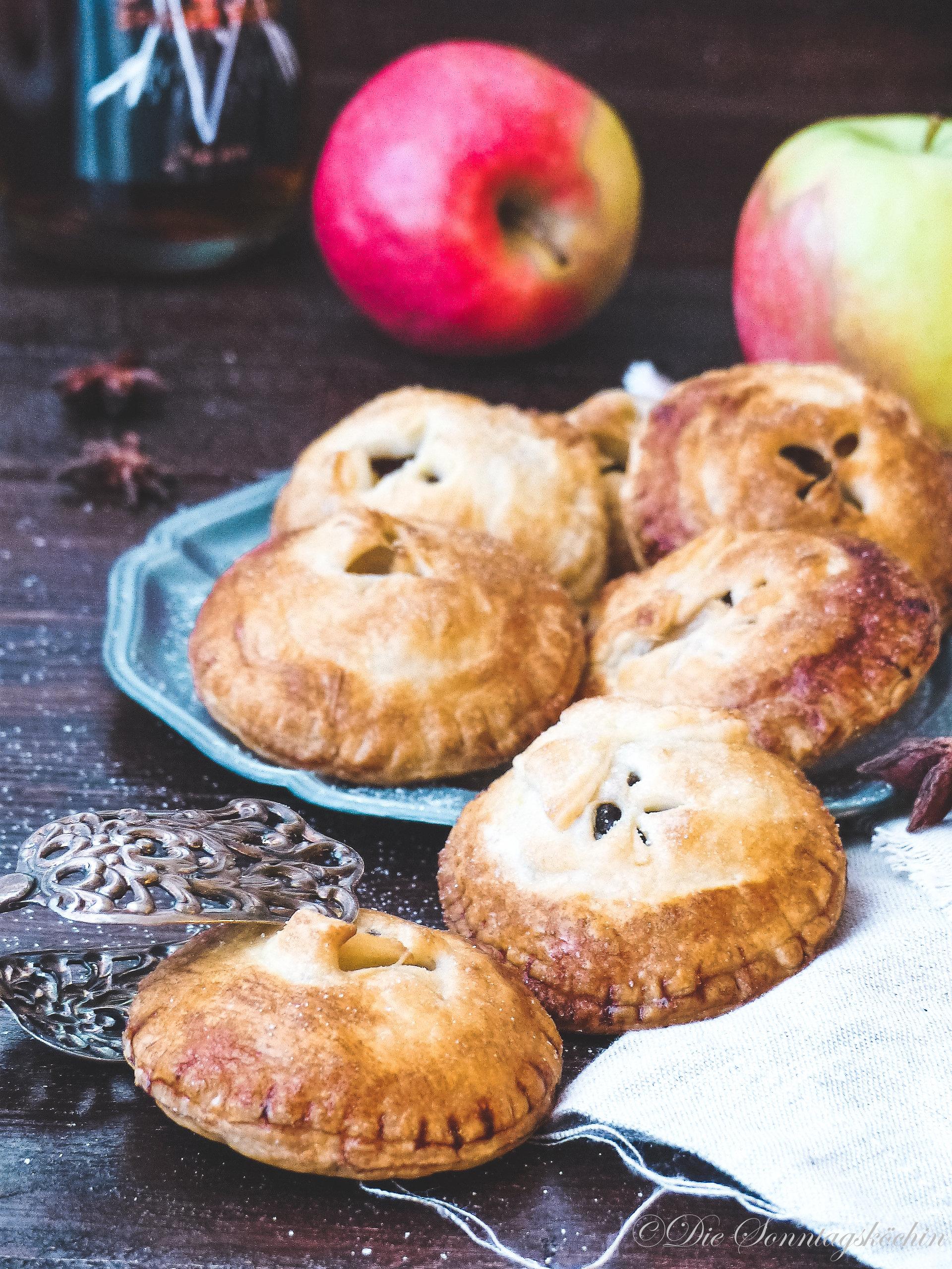 Mini Rum Apfel Pies